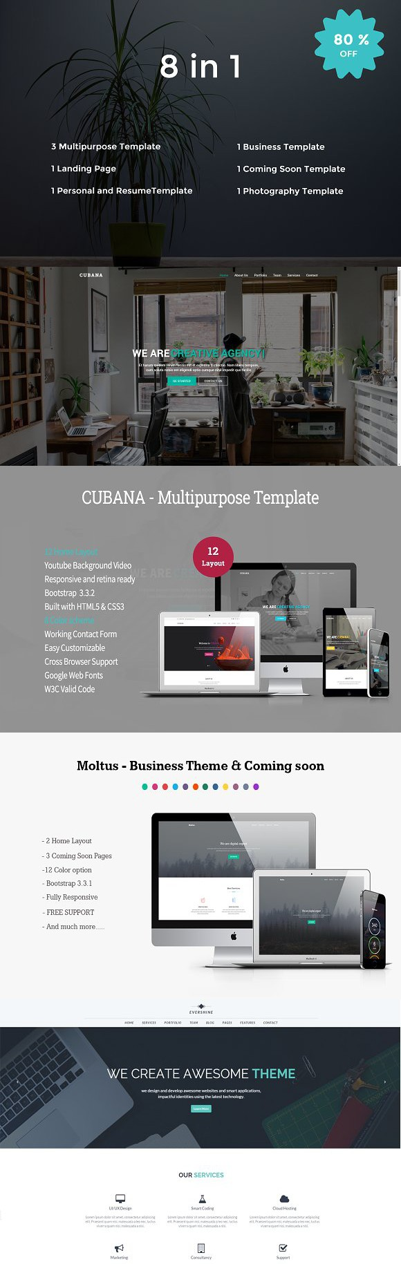 Stunning Responsive Html Css Template Contemporary - Professional ...