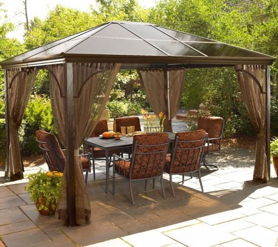 Simple Garden Gazebo Ideas Interesting Garden Gazebo Ideas Con