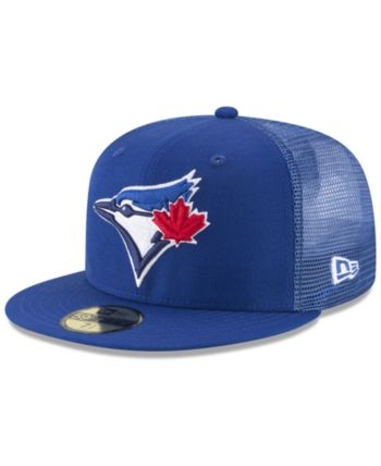 47a803083 New Era Toronto Blue Jays On-Field Mesh Back 59FIFTY Fitted Cap in ...