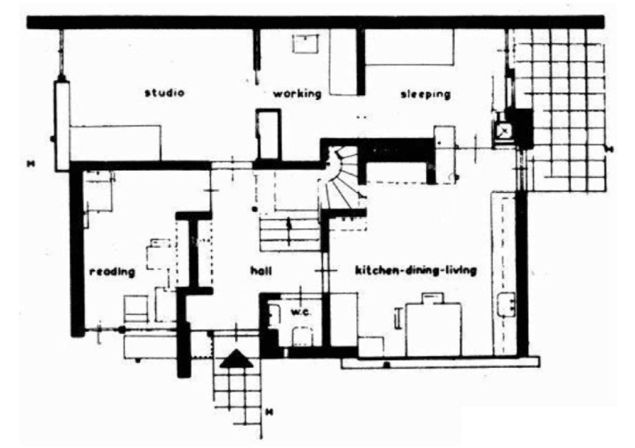 Schroder House Floor Plans