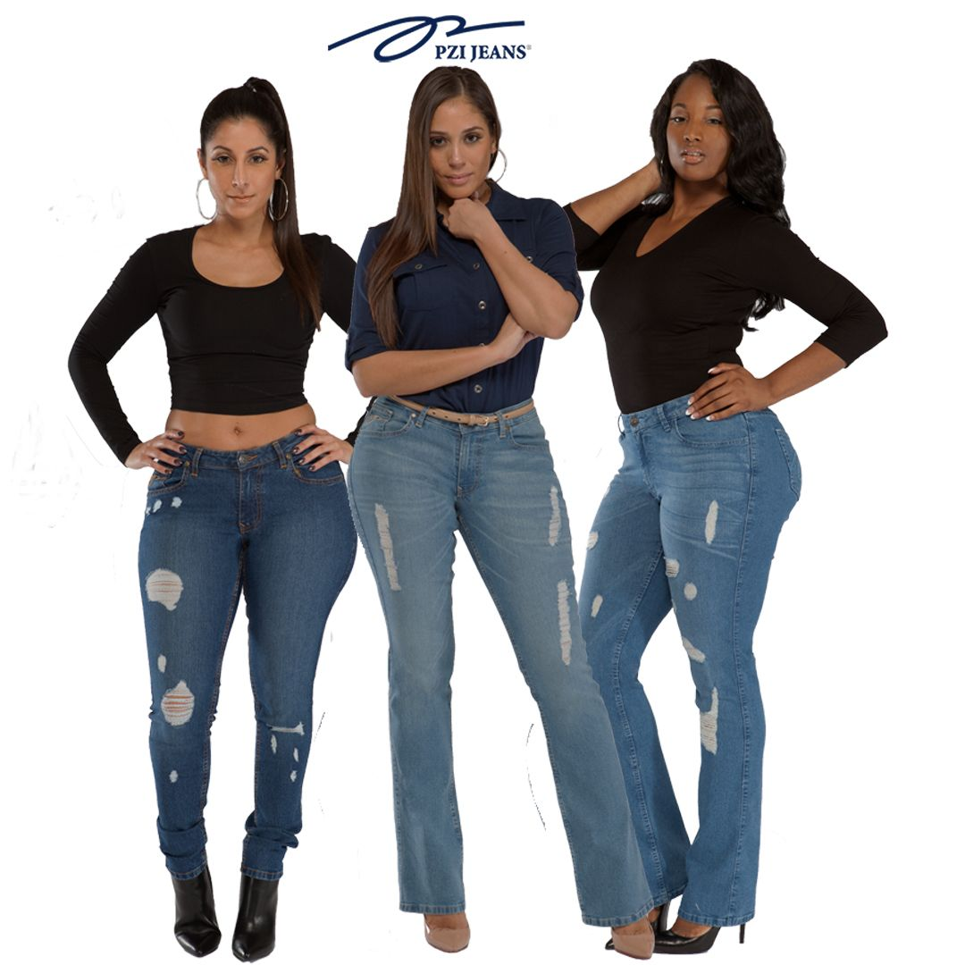 a5c4bd0e2a0 Real Women With Curves Rock PZI Jeans!!!