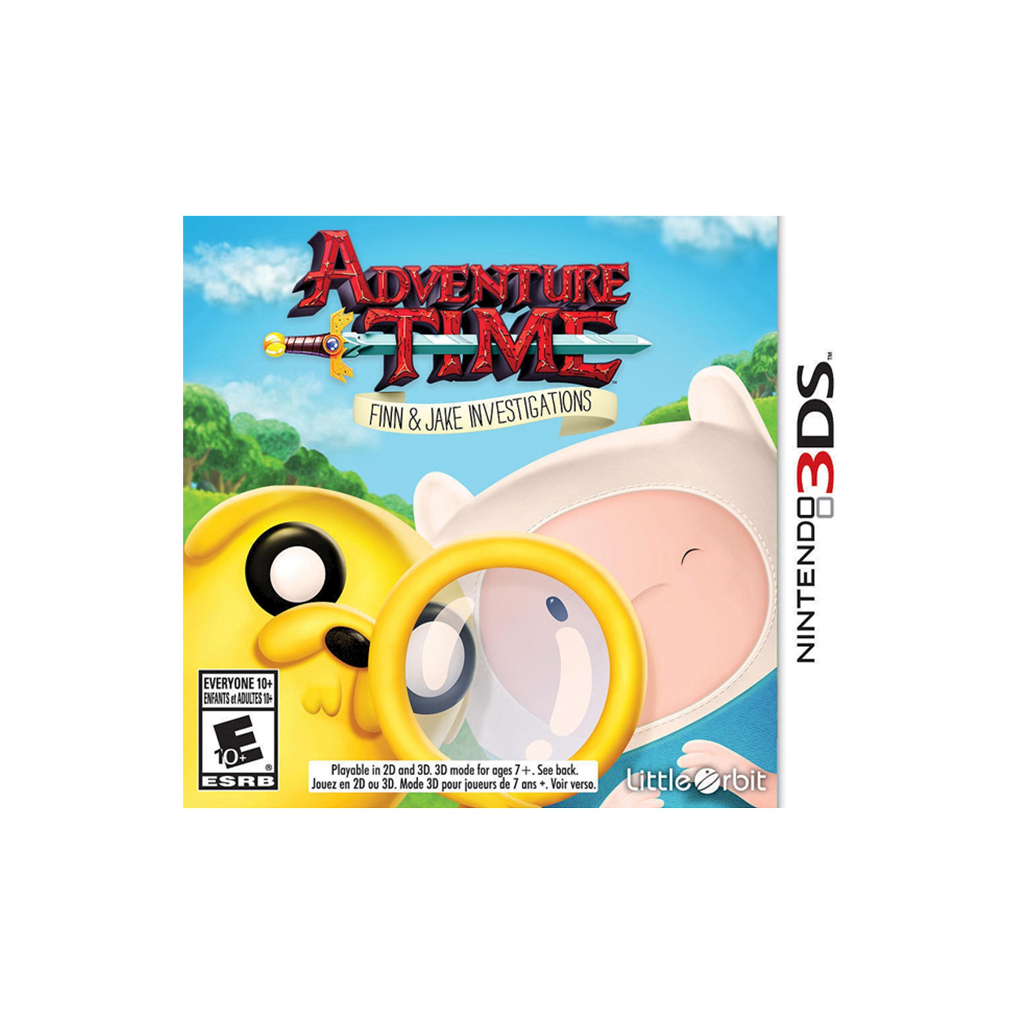 Adventure Time Finn And Jake Investigations Nintendo 3ds Finn
