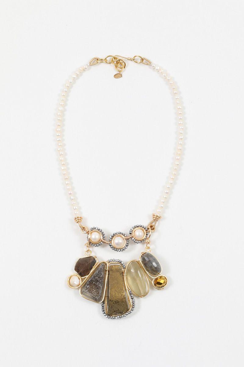 Collar Convertible Pearls | Exclusive Collar 2 en 1 sencillo de ...