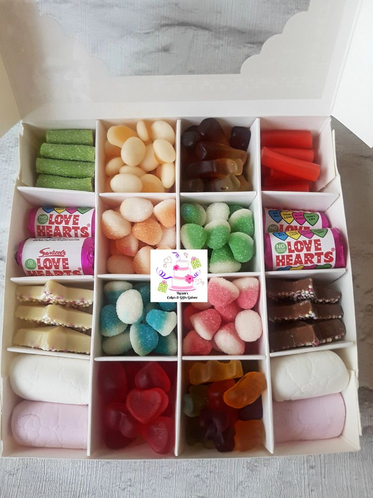 Details about halal filled sweetchocolate box eid