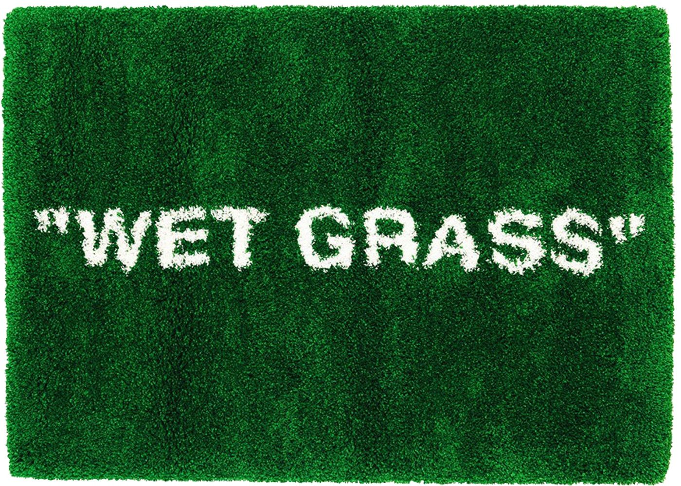"Virgil Abloh x IKEA MARKERAD ""WET GRASS"" Rug 195x132 CM"