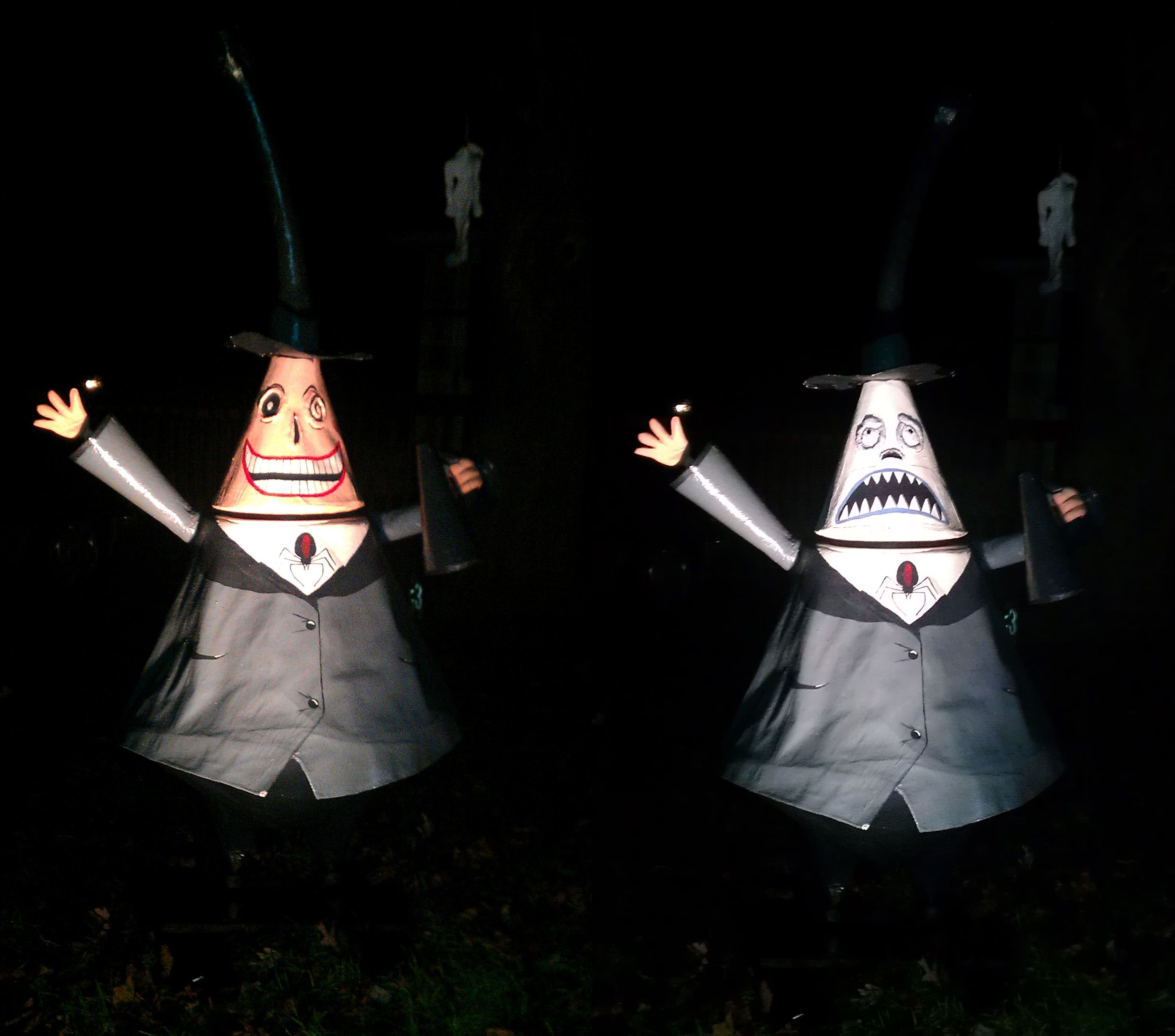 Paper Mache Nightmare Before Christmas Characters (Mayor