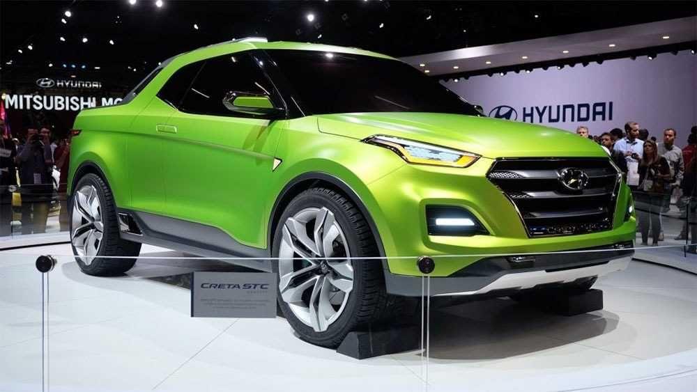 Concept Hyundai Creta Stc 2018 2019 Harbinger Of The Pickup