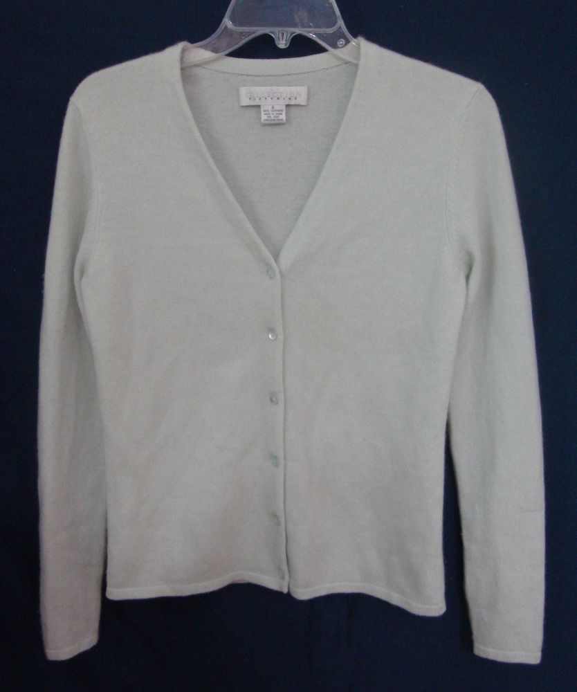 7533873d47b Collection Fifty Nine Cashmere Cardigan Mint Green Sweater ...