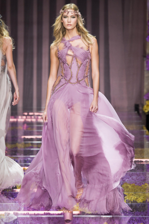 Atelier Versace Fall 2015 Couture Runway | Ellie saab, Vestido de ...