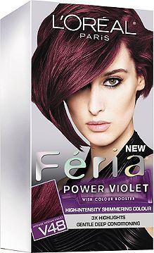 Loréal Feria Power Violet Violet Vixen V48 Ultacom Cosmetics