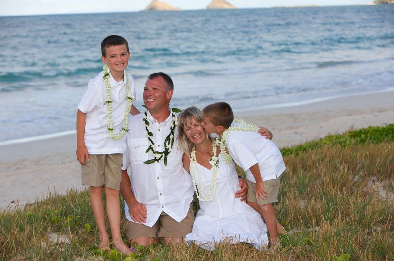 Beach Vow Renewal Ceremony: For A Second Wedding Or Vow Renewal Include Your Children