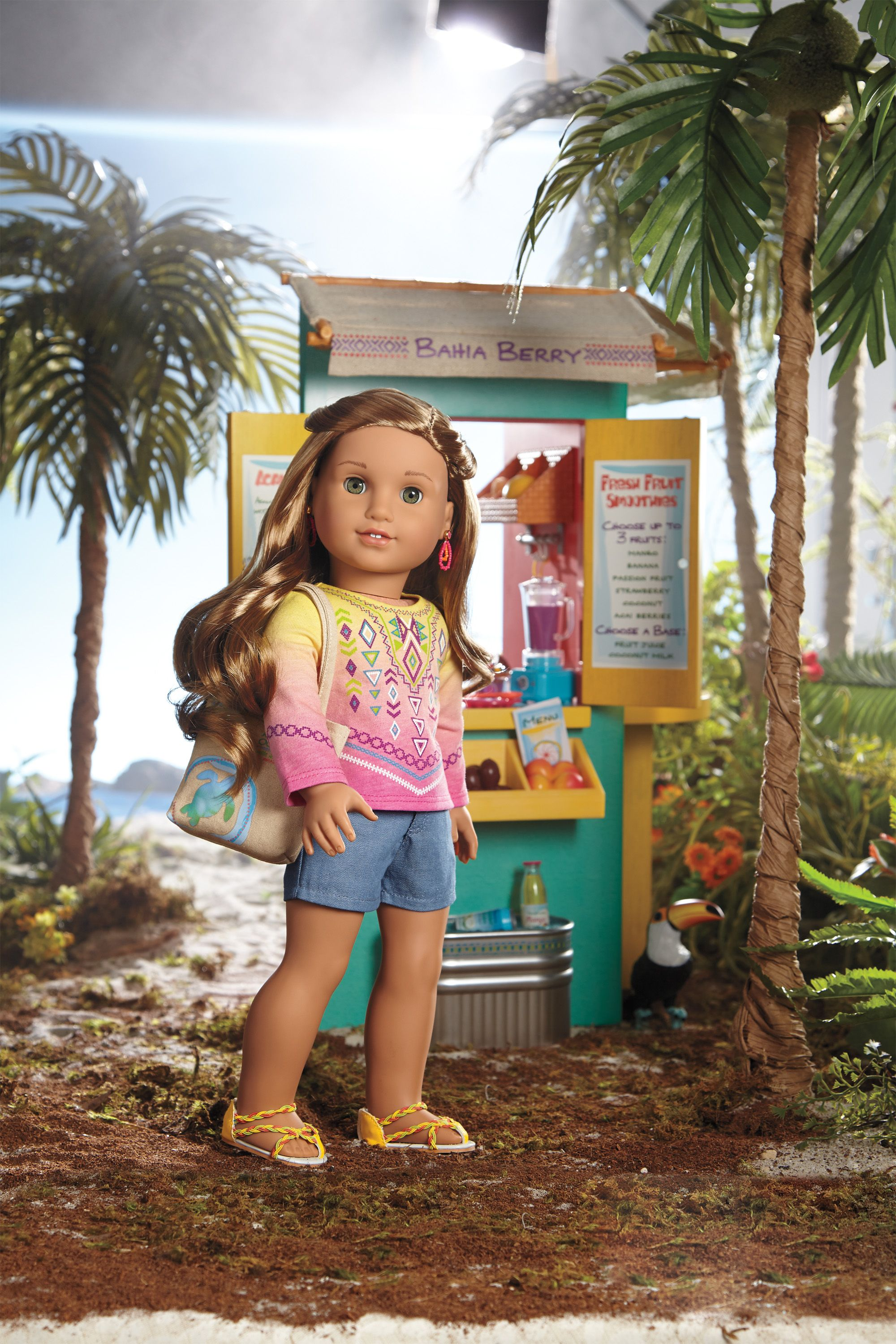 NEW American Girl Lea Clark: Activity Book Crafts Accessories /& More Clothes