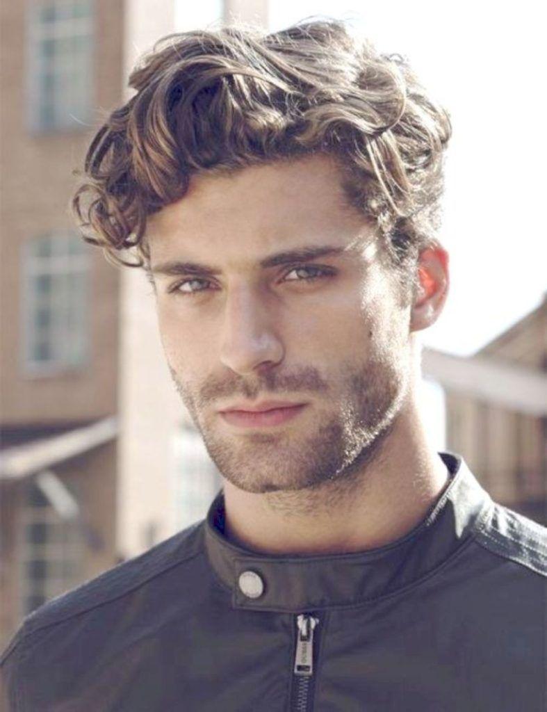 55 New Hairstyles For Men In 2018 Seasonoutfit Wavy Hair Men Latest Men Hairstyles Medium Length Wavy Hair