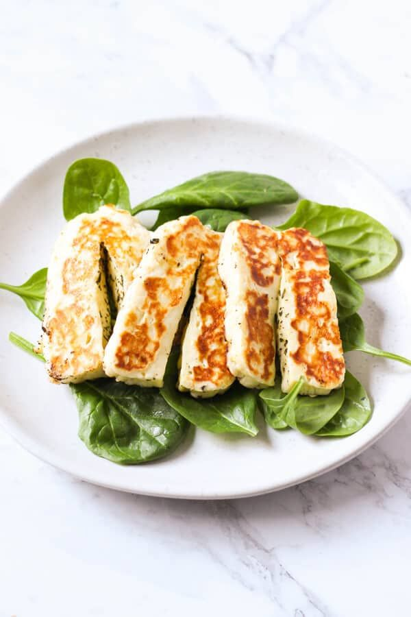 how to cook haloumi fry