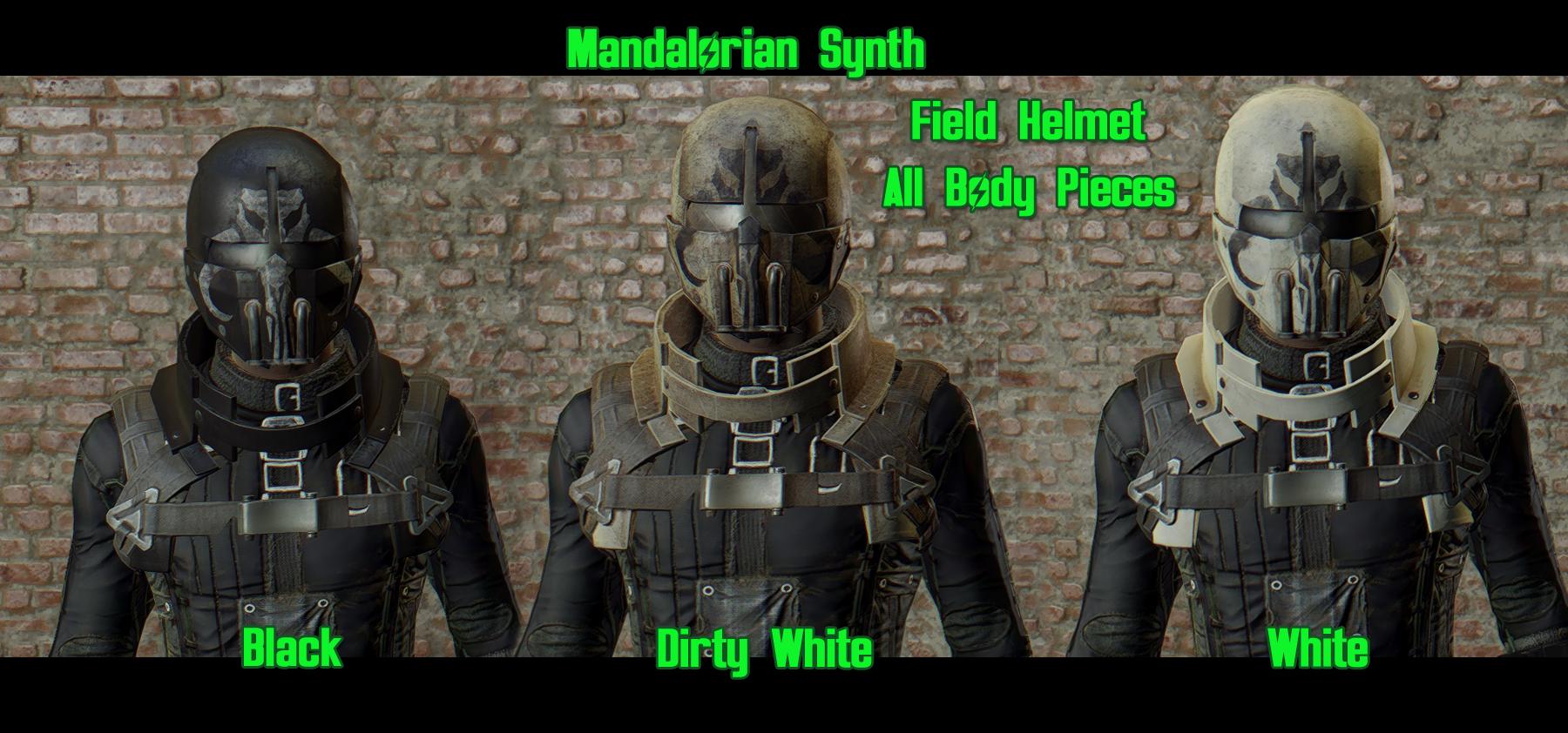 Mandalorian Synth at Fallout 4 Nexus - Mods and community