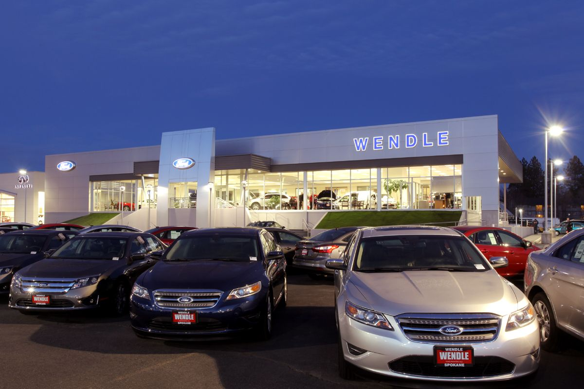 Wendle Ford Dealership In Spokane Wa Dealership Ford Spokane Wa