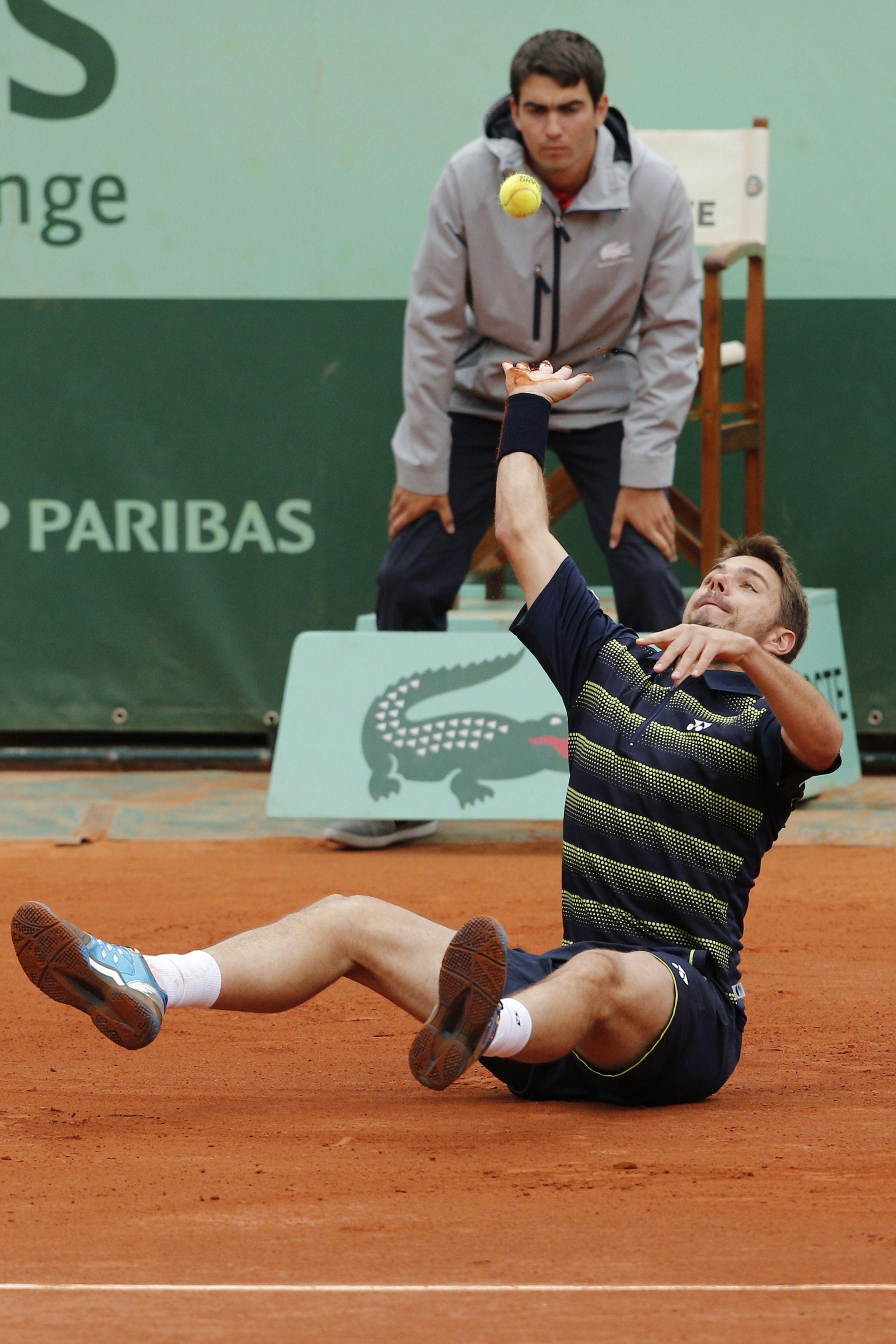 Stan Wawrinka (Switzerland) 2012 Roland Garros Men's