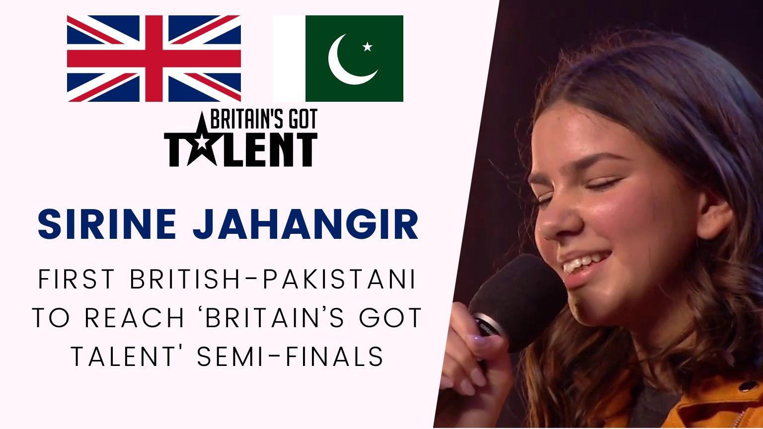 Sirine Jahangir | First British-Pakistani to reach 'Britain's Got Talent' semi-finals