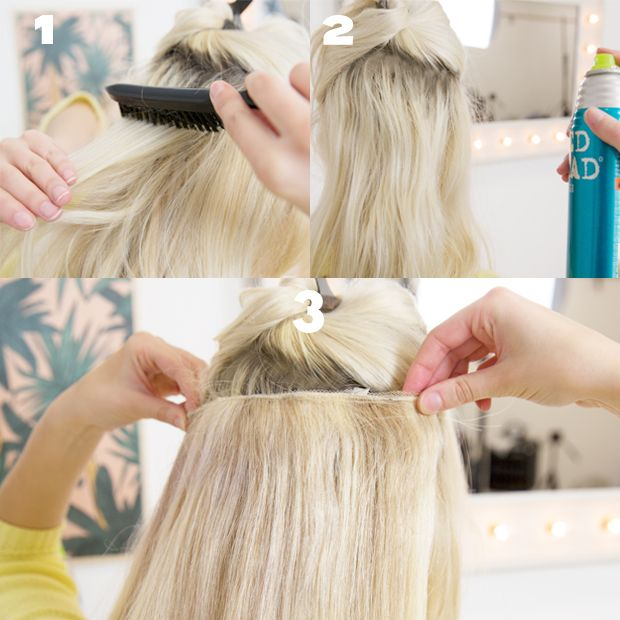 How To Make Clip In Hair Extensions Stay In Your Hair Health