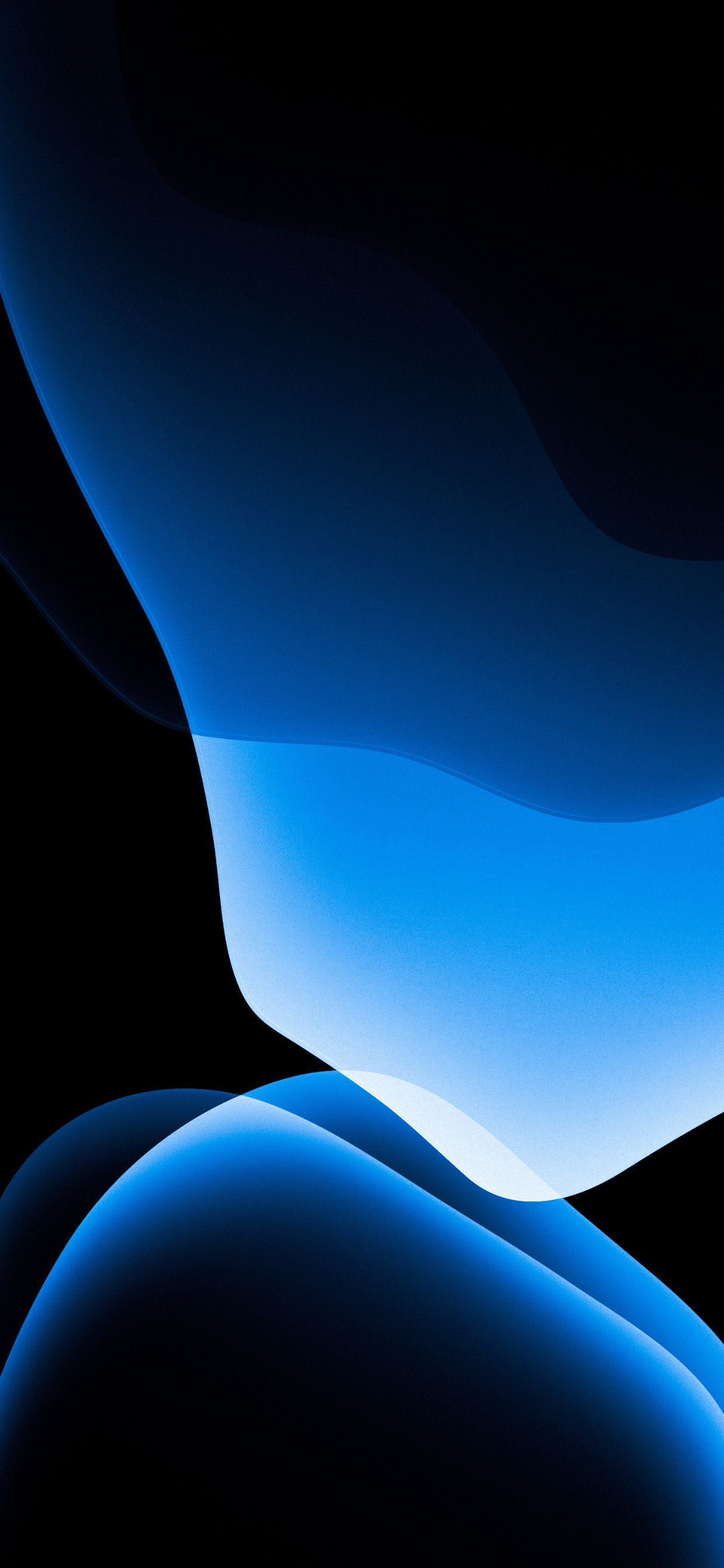 Blue iOS 13 redo by @AR72014 on Twitter #ios13wallpaper