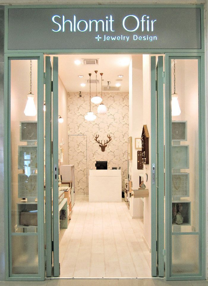 a new aqua jewelry storefront in Rehovot Mall 38b0f4fbc6e2