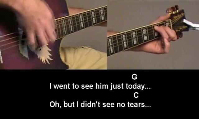 George Jones - He Stopped Loving Her Today - Guitar Tutorial ...
