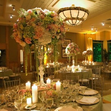Reception Table Idea: Words Of Love. Gold CenterpiecesCenterpiece  IdeasWedding ...