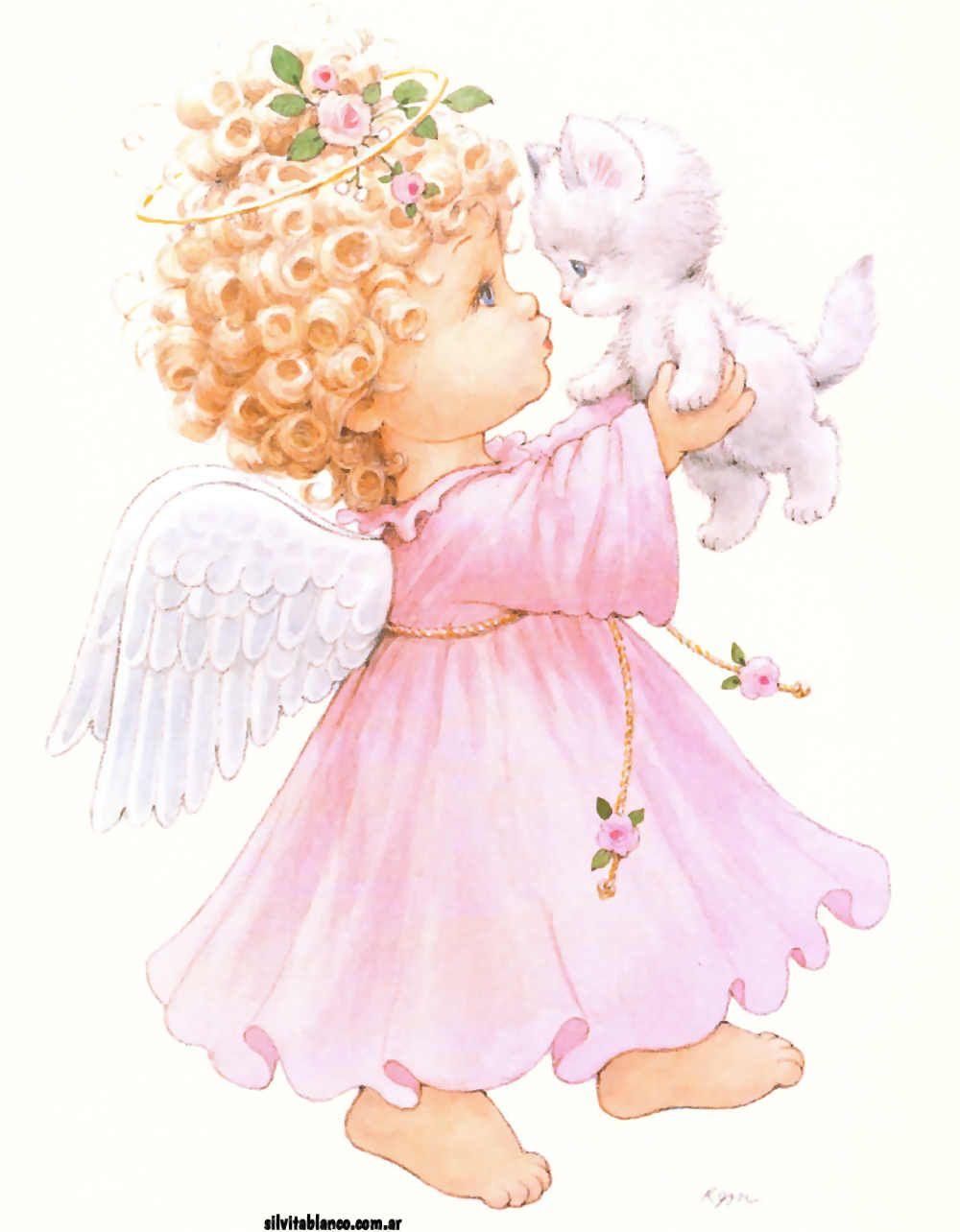 Ангелочек открытки, для открытки