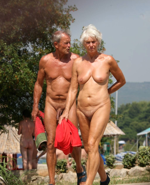 Something Nudist mature women couples