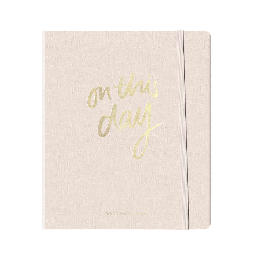 The Somewhere Co On This Day Wedding Planner In 2020 Wedding Planner Binder Kate Spade Wedding Planner Wedding Planner