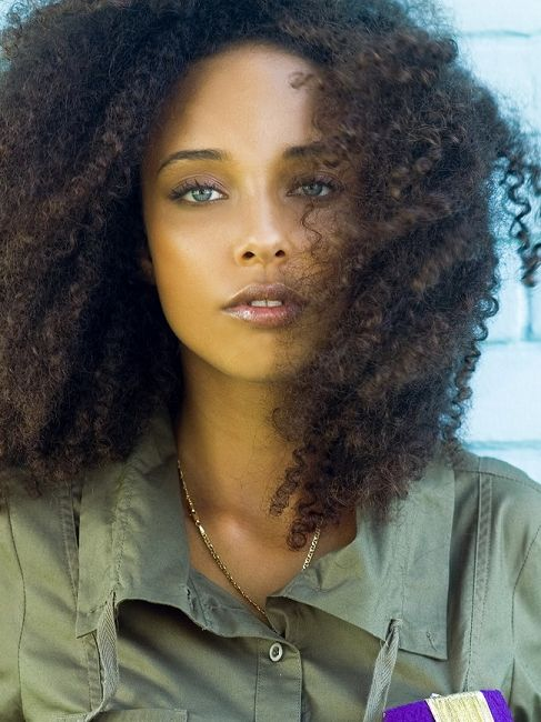 Mixed Ethnicity Makes For New Breeds Of Beauty Curly Hair