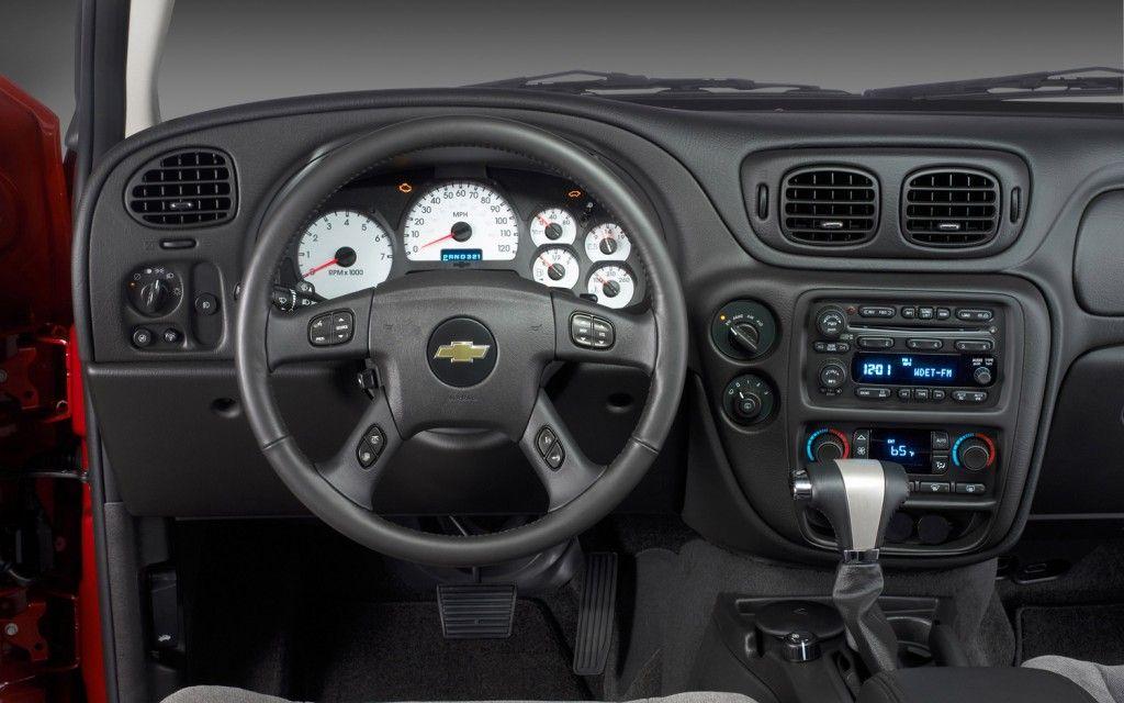 2006 Trailblazer Interior   Chevrolet trailblazer ...