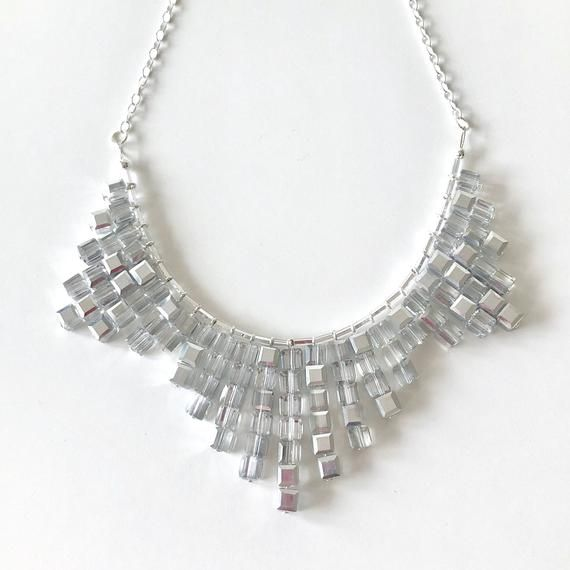 BURST Necklace Silver Medium / Best Gifts for Women / Christmas Gifts for Women / Christmas Gift Ideas For Teens #christmasgiftideasforteens