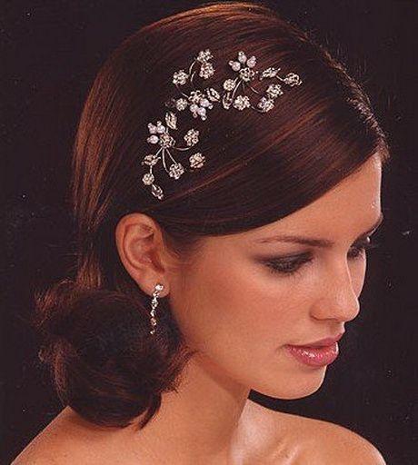 Brautschmuck haare  Brautschmuck für kurze haare | Schönheit und Stil | brautfrisuren ...