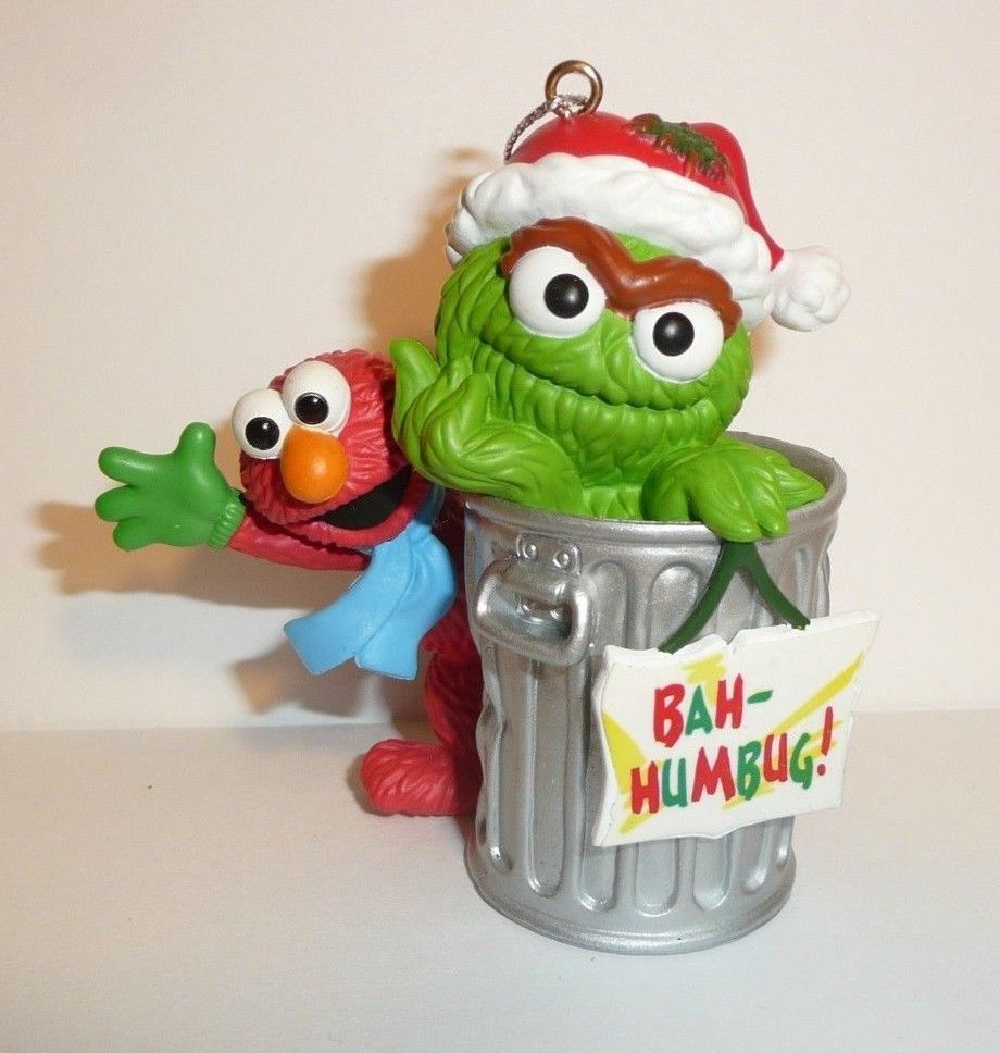 Details About Sesame Street Oscar The Grouch Christmas Tree