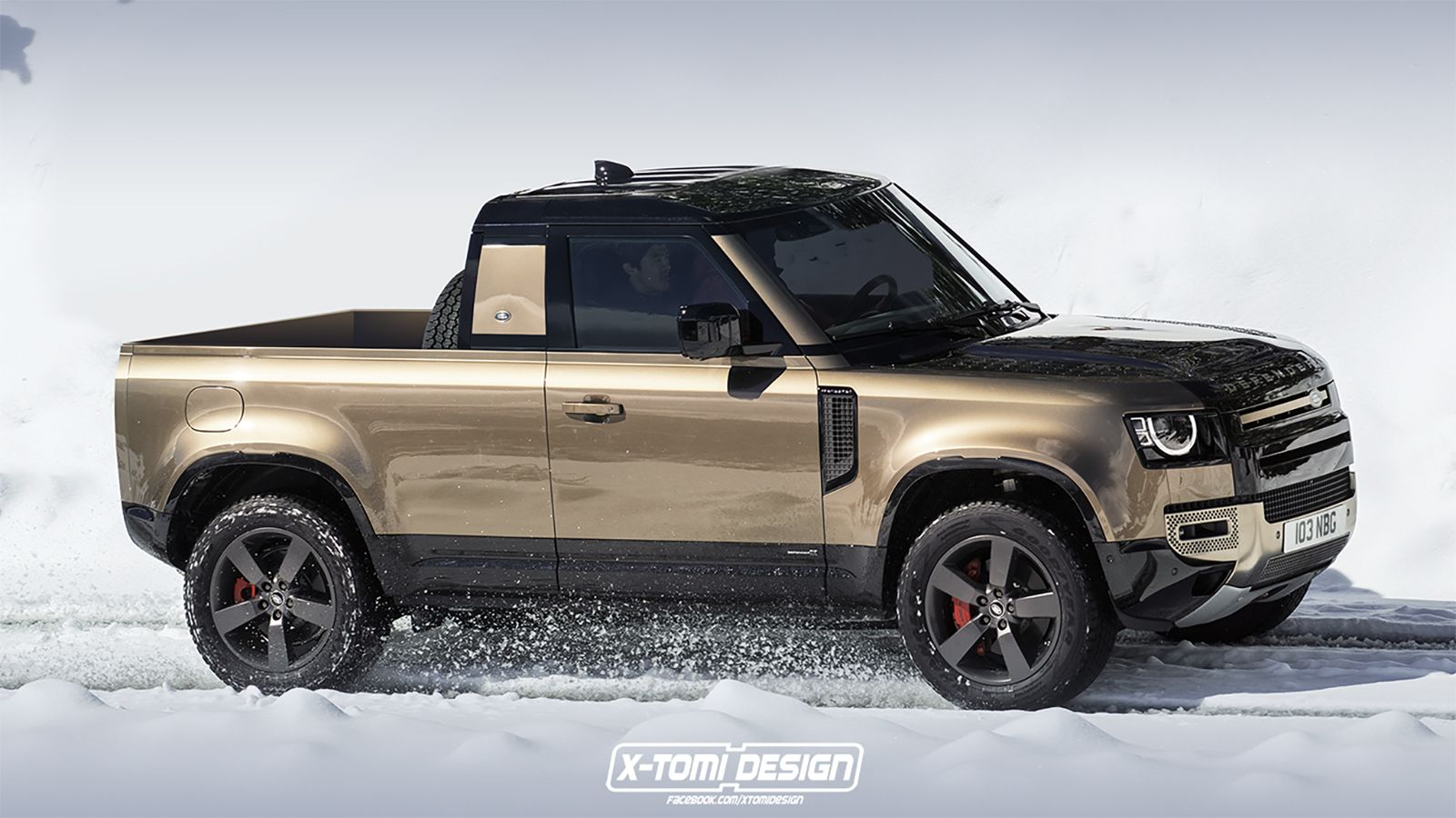 A 2020 Land Rover Defender Pickup Truck We Say Yes Please With