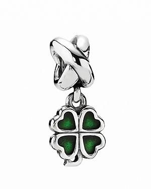 7e2136b99 Discover ideas about Cheap Pandora. PANDORA green four-leaf clover dangle  charm ...