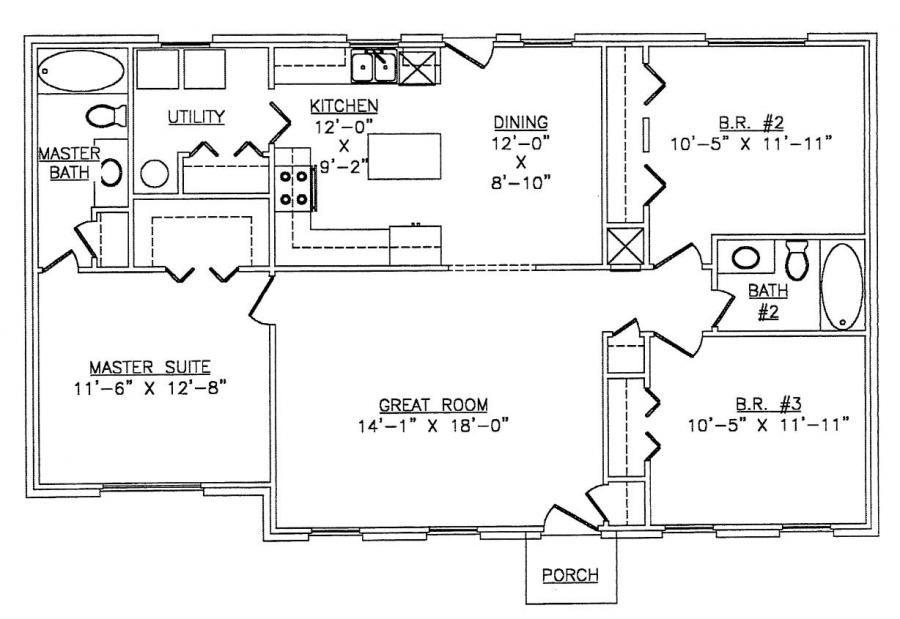Lth016 Steel Frame Home Kit Floor Plan Steel Frame House Metal House Plans Simple House Plans