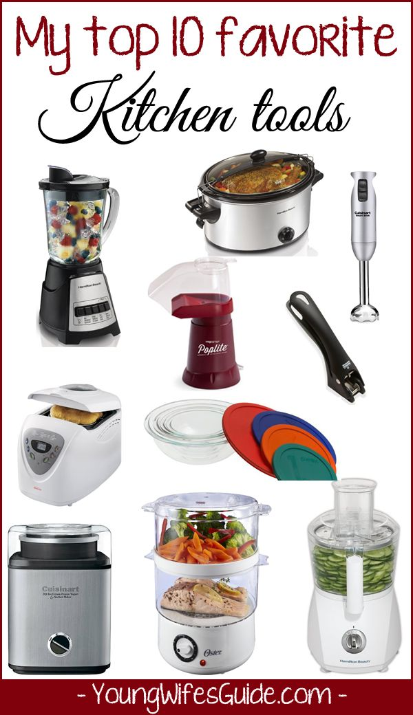 What Are The Top 10 Kitchen Utensils