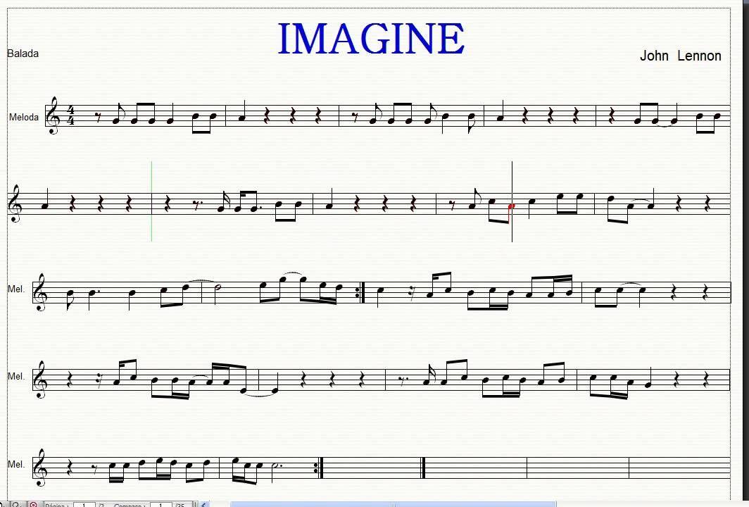 Flauta, Partituras Y Musica