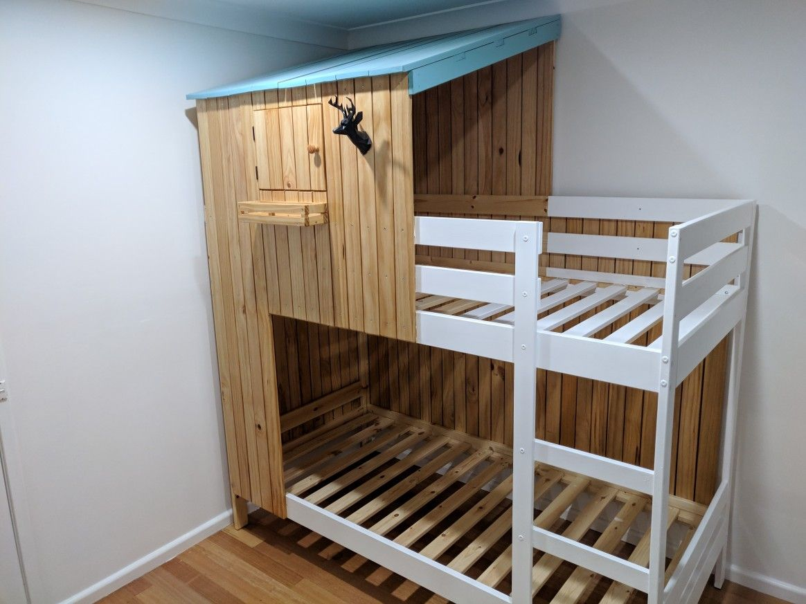 Ikea Mydal Hack Bunk Bed Cubby House Beds
