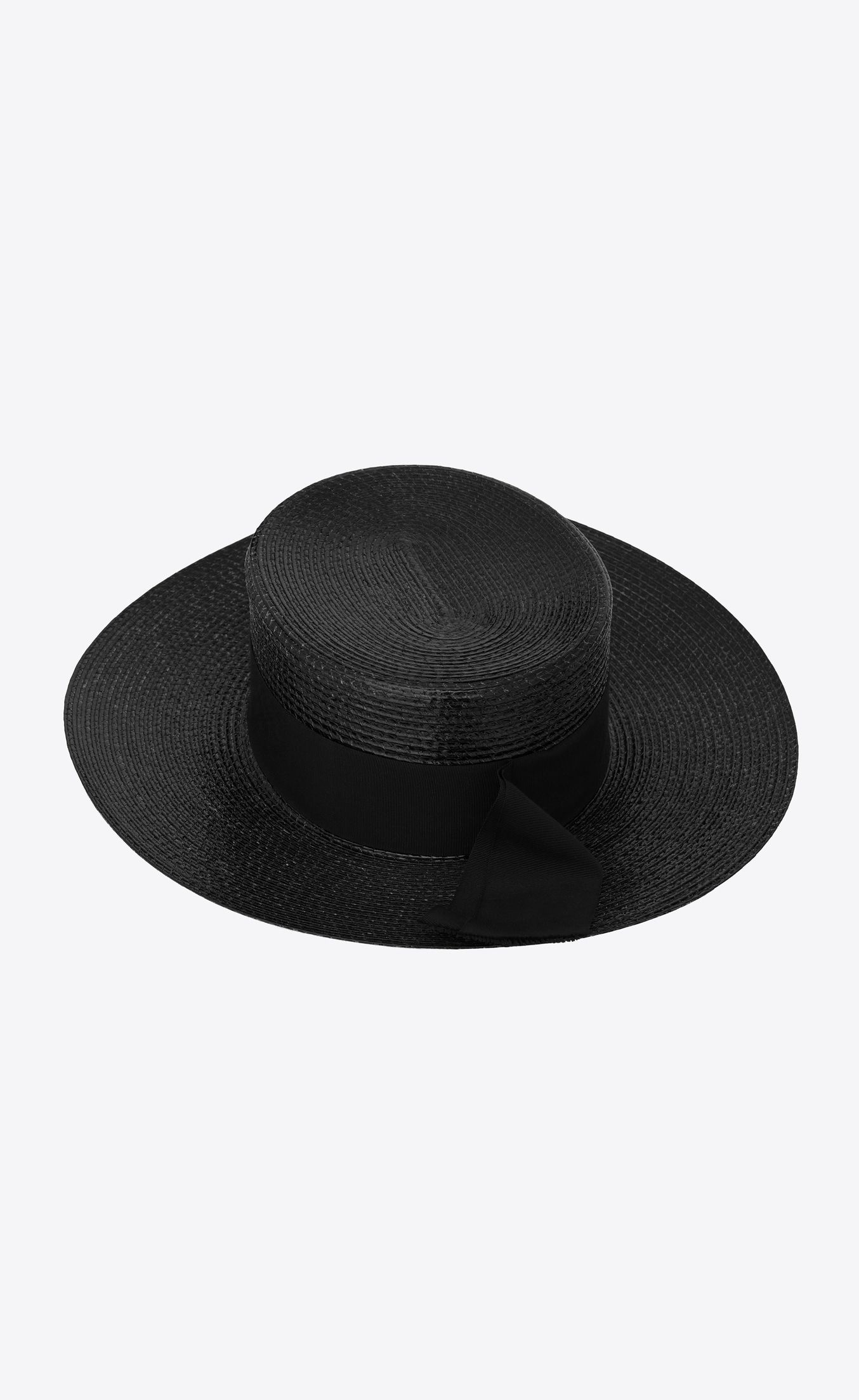 9a5520e8198 Large boater hat in varnished straw in 2019 | Sartorial | Boater hat ...