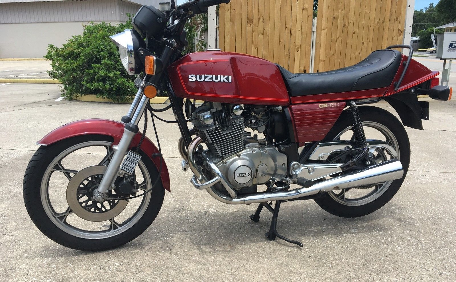 1981 Suzuki Gs 1981 Suzuki Gs450ex Please Retweet バイク