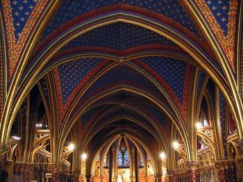 La Sainte-Chapelle (The Holy Chapel) is a 13th-century Gothic chapel on the Île de la Cité in the heart of Paris, France. It was built by Louis IX for use as his royal chapel.