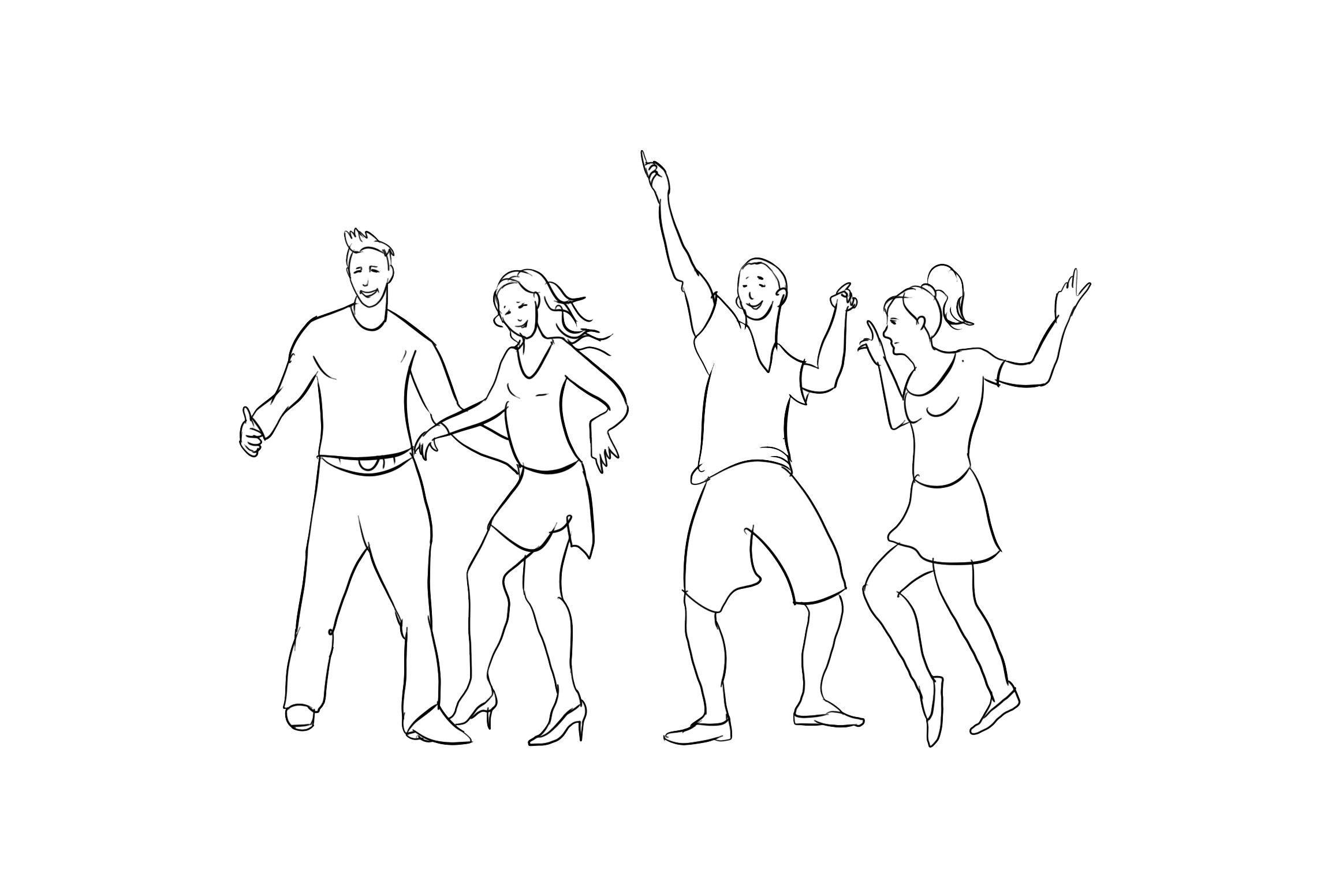 malvorlagen tanzen kostenlos  coloring and malvorlagan