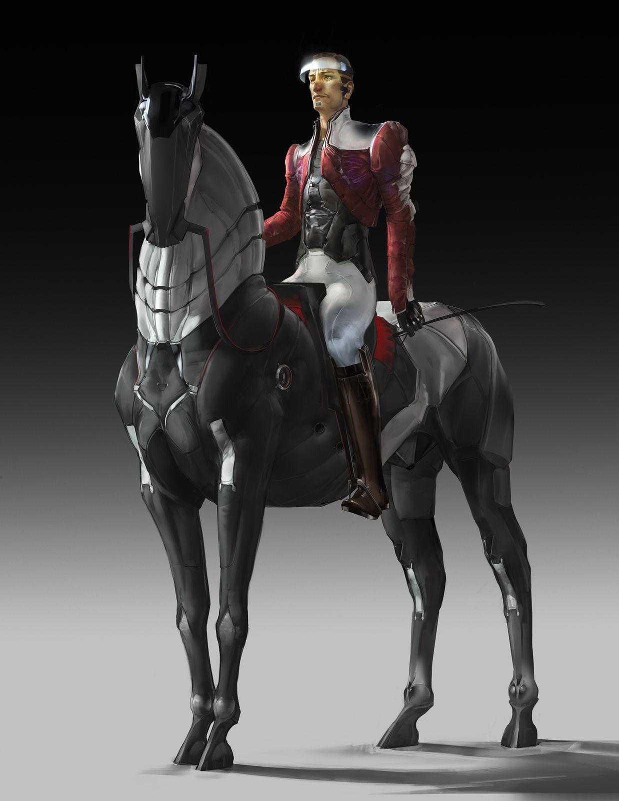 Nobleman (artificial steed), Mikhail Rakhmatullin