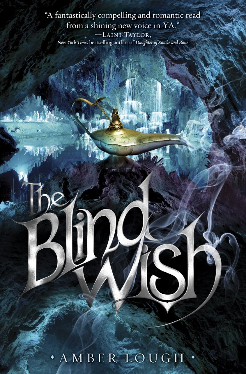 #CoverReveal  The Blind Wish (The Jinni Wars, #2) by Amber Lough