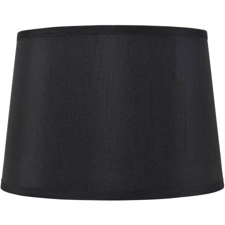 Lamp Shades At Walmart Delectable Better Homes And Gardens Black Drum Lamp Shade  Walmart 2018