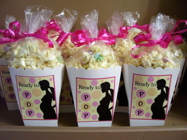 Baby shower favors for a girl 38 baby shower themes ideas - Baby Shower Ideas Ready To Pop Baby Shower Favor Boxes By Larkpaperdesign On Etsy