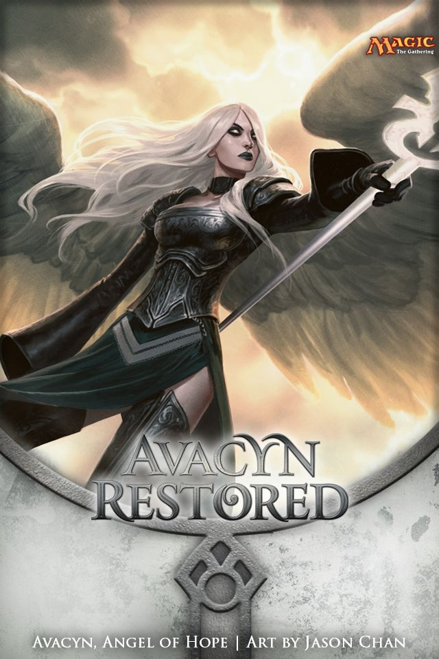 Wallpaper Of The Week Avacyn Angel Of Hope Magic The Gathering